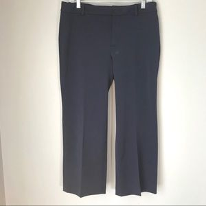 Zara Woman NWT navy cropped pants
